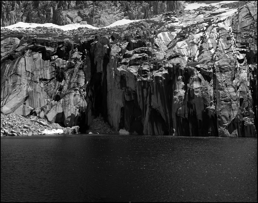 Precipice Lake, of Ansel Adams fame