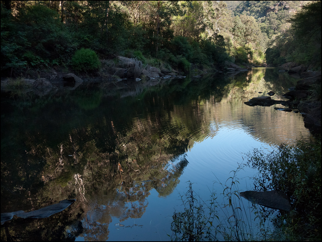 Wollemi Creek at our last water pumping stop